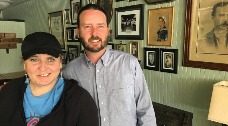 Maximillian's new owners Will and Margie Hennessee