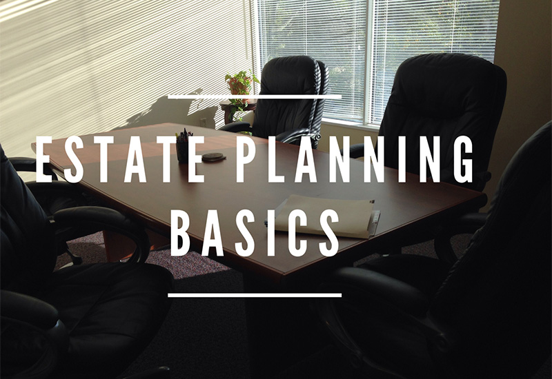 Estate Planning Basics Header