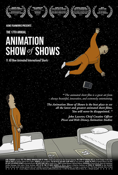 17th Annual Animation Show of Shows - 11.00 - Poster