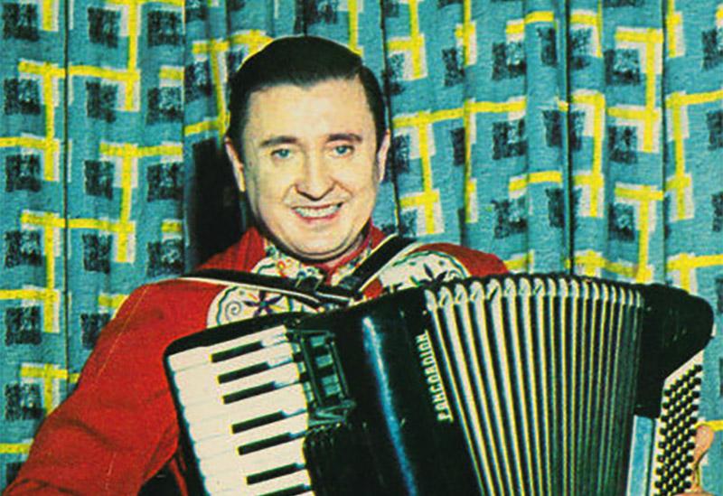 Frankie Yankovic in 1958.
