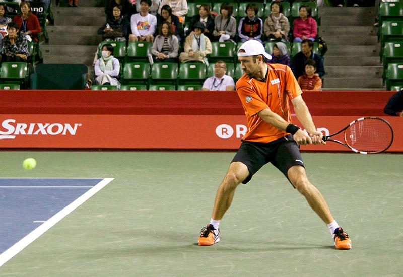 Benjamin Becker, playing in 2014.