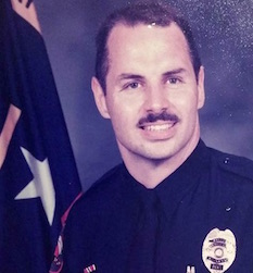 Don Hamilton, retired Town of Cary policeman