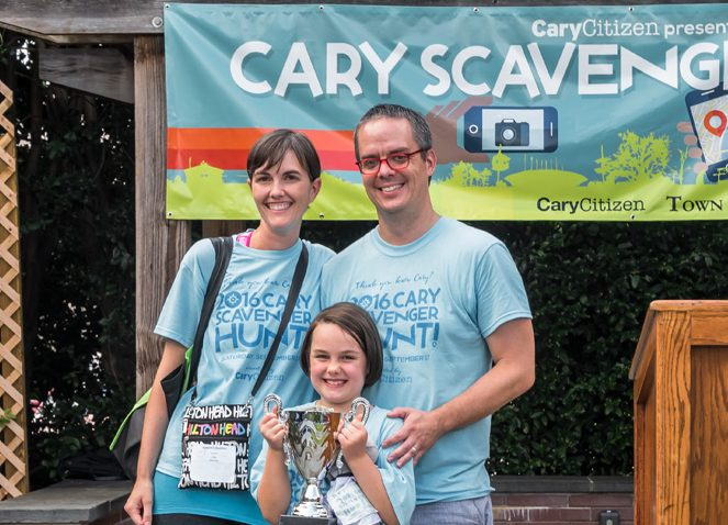 Eeyores Buddies came in 1st place in the Family Team Category