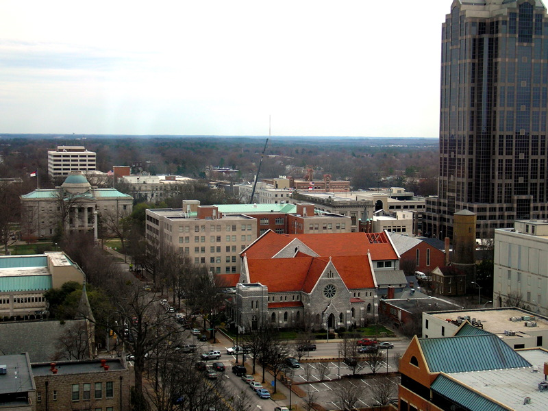 Raleigh, 10 years ago.