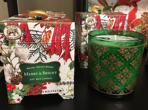 These handmade soaps and soy candles are made in England carried exclusively by Elizabeth's in Downtown Cary, $12-25.