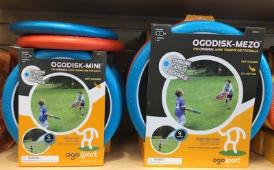 Ogodisk- mezo or mini create hours of active fun from Learning Express $29.99-$38.99