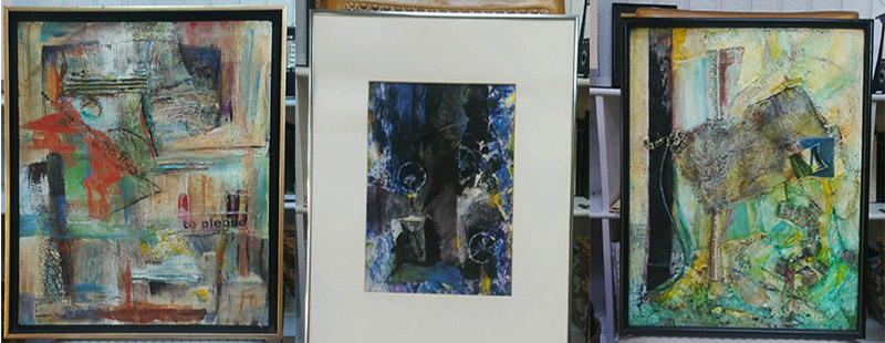 Some of Ella's artwork