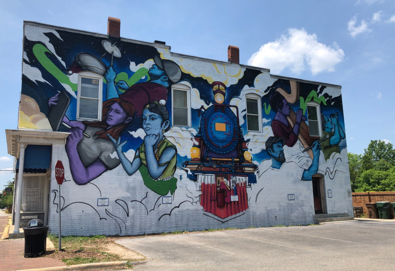 Downtown Mural
